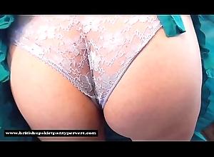 A difficulty British Upskirt Panty Curse at visits Sarah