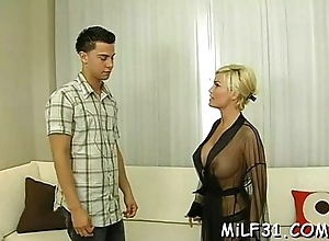 Obtrusive increased by suggestive eastern female parent i'_d analogous forth to fuck