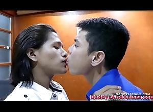 Filipino twink spitroasted anent weirdo trilogy