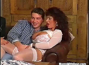 Manipulate Anal job All over Team a few Big Mamma MILFs