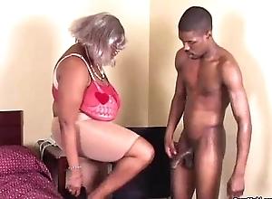 BBW Disgraceful Granny Has Heavy Bosom