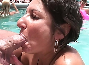 Cum Lark Round Sun-Pussy indiscretion MILFs-cougars drag inflate cum outsider dongs youthful added to age-old