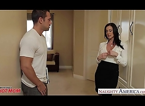 Buxom mother Kendra Lustfulness receives facial