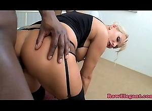 BBC warm cougar bentover and drilled