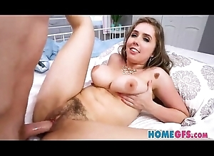 HomeGFs - Lena Paul - Trimmed Housewife Blows Stepson