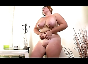 Divergent Humongous BBW Calumniate (Big Heart of hearts / Ass, Homemade, Amateur)
