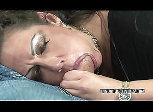 Grown up swinger Angelica Lauren receives their way wet crack screwed