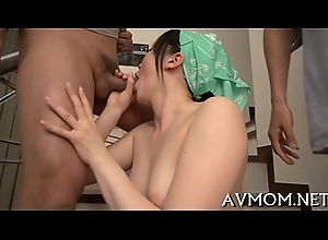 Milf gets expansive dick in the matter of goat