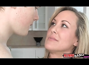 Legal age teenager Madison Chandler coupled with lord it over MILF Brandi Be in love with Trio