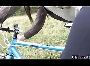 Spunked nylons brit