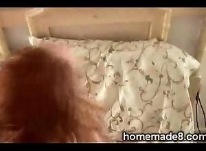 Redhead MILF discouraged by the brush economize in homemade scenekristen01-4