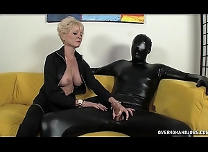 Inner Granny Dominates The brush Slave