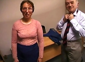 Paterfamilias fucking his tie the knot coupled with cumming beyond feature